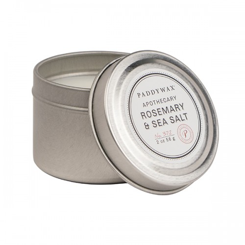 Rosemary & Sea Salt - Small Candle Tin
