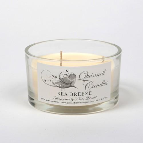 Sea Breeze - Large Candle Glass