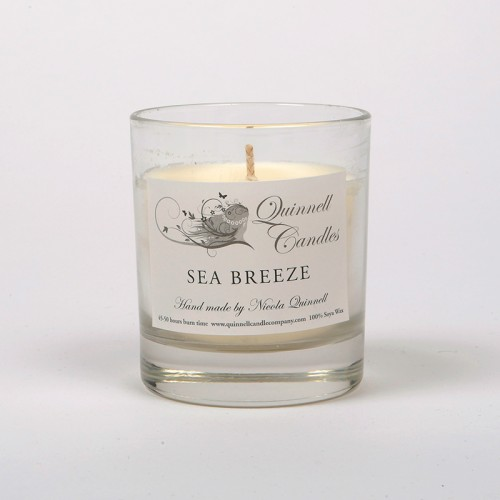 Sea Breeze - Small Candle Glass