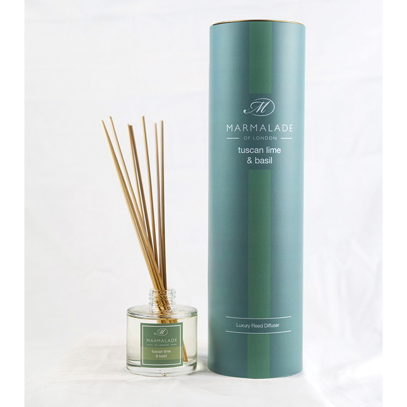 Tuscan Lime & Basil - Reed Diffuser