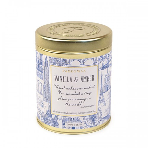 Vanilla & Amber - Large Candle Tin
