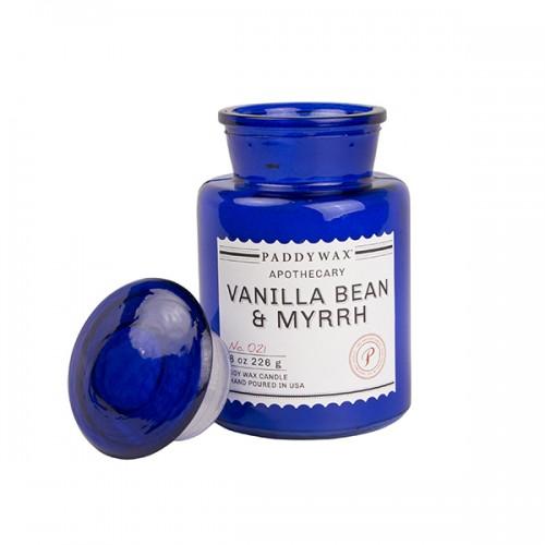 Vanilla Bean & Myrrh - Glass Candle Jar