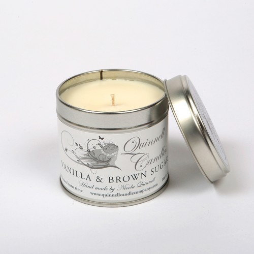 Vanilla & Brown Sugar - Large Candle Tin