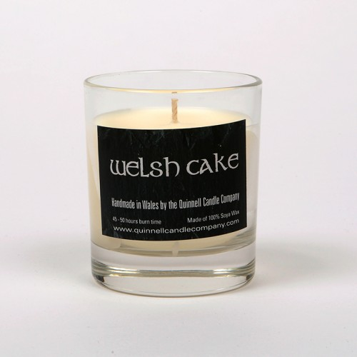 Welsh Cake - Small Candle Glass