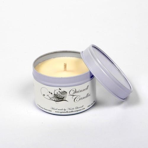 Lotus Flower & Sandalwood - Small Candle Tin