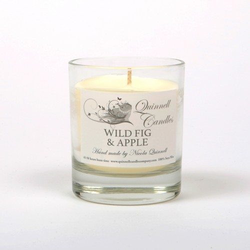 Wild Fig & Apple - Small Candle Glass