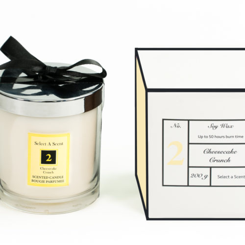 Cheescake Crunch - Glass Candle Jar