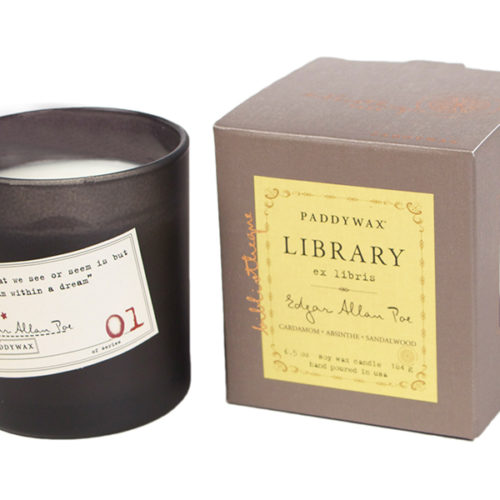 Edgar Allan Poe. Cardamom, Absinthe & Sandalwood - Choose Your Candle Type