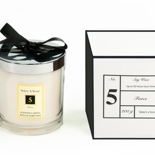 Fierce - Glass Candle Jar