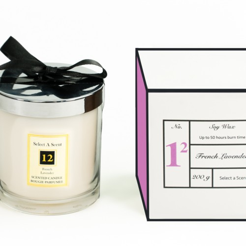French Lavender - Glass Candle Jar