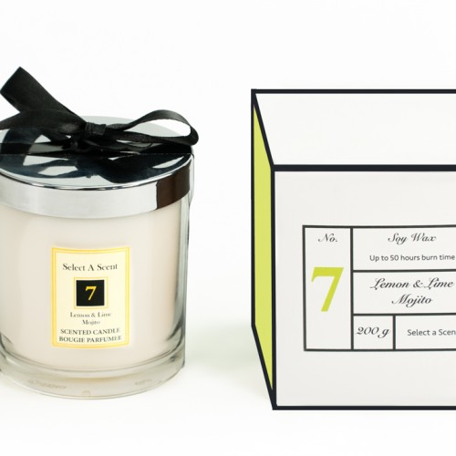 Lemon Lime Mojito - Glass Candle Jar