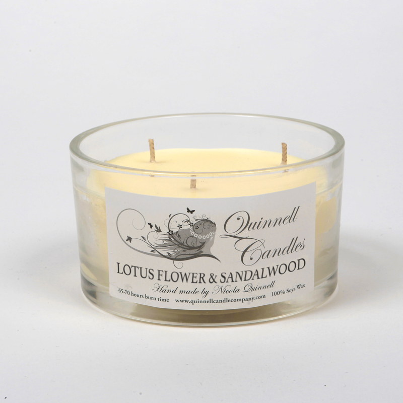 Lotus Flower & Sandalwood - Choose Your Candle Type