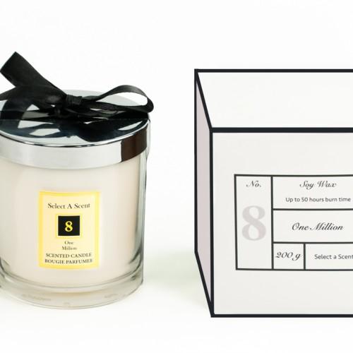 One Million - Glass Candle Jar