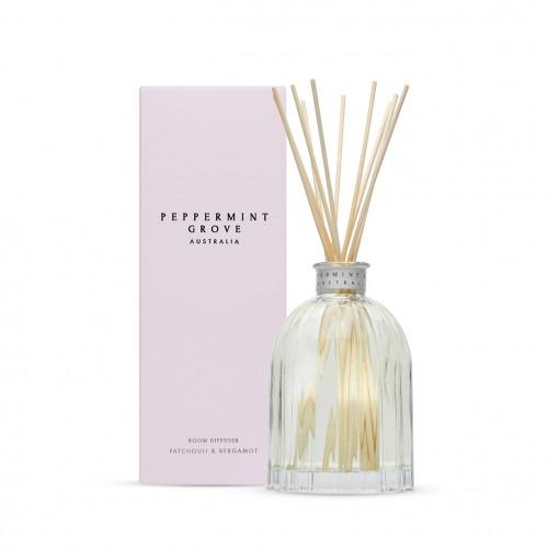 Patchouli & Bergamot - Medium Reed Diffuser