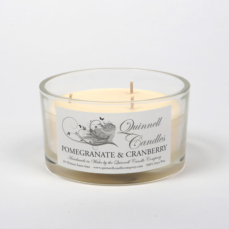 Pomegranate & Cranberry - Choose Your Candle Type