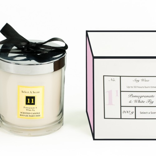 Pomegranate & White Fig - Choose Your Candle Type