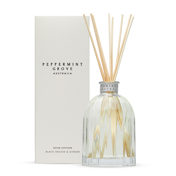 Black Orchid & Ginger - Medium Reed Diffuser
