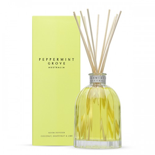 Coconut Grapefruit & Lime - Medium Reed Diffuser