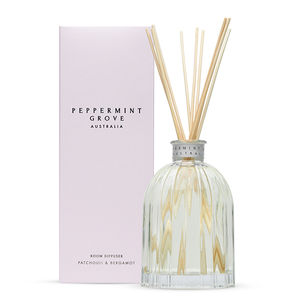 Patchouli & Bergamot - Medium Reed Diffuser