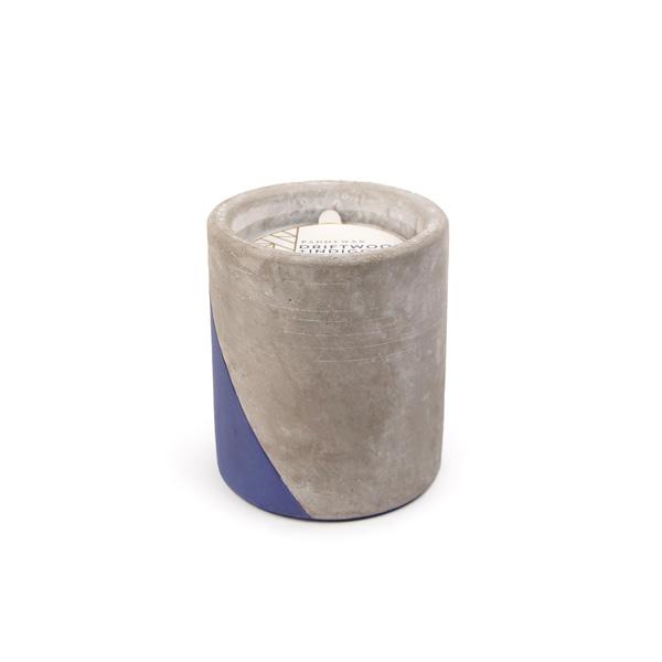 Driftwood & Indigo - Large Concrete Pillar