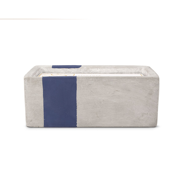Driftwood & Indigo - Rectangle Bath