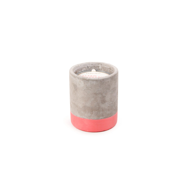 Salted Grapefruit - Small Concrete Pillar