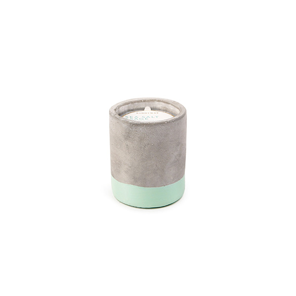 Sea Salt & Sage - Small Concrete Pillar