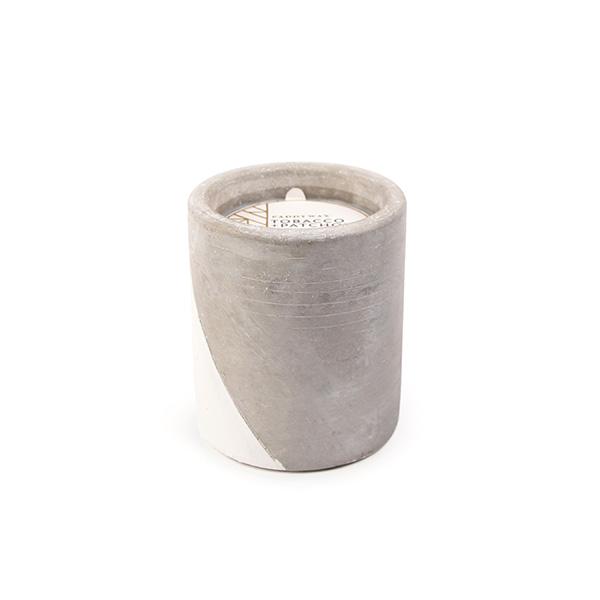 Tobacco & Patchouli - Large Concrete Pillar