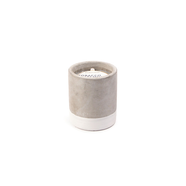 Tobacco & Patchouli - Small Concrete Pillar