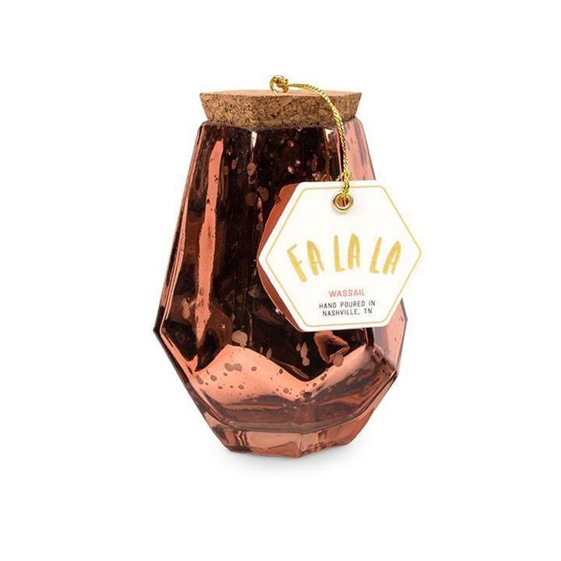 Fa La La. Wassail - Medium Prism Jar
