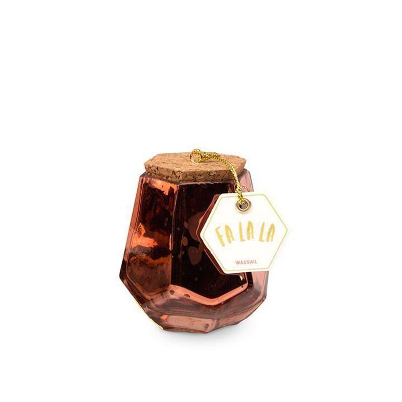 Fa La La. Wassail - Small Prism Jar