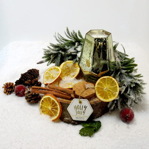 Holly Jolly. Spiced Citrus & Saffron - Choose Your Candle Type