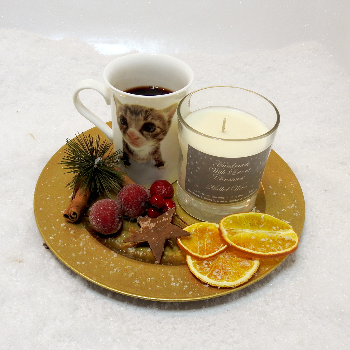 Mulled Wine - Medium Candle Jar